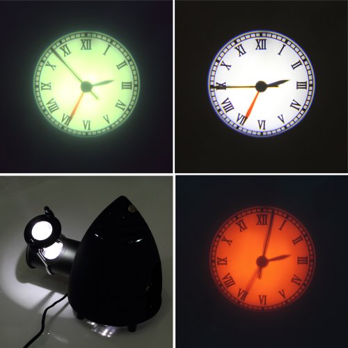 Koolertron New Projection Clock Rome Numeral Style Big
