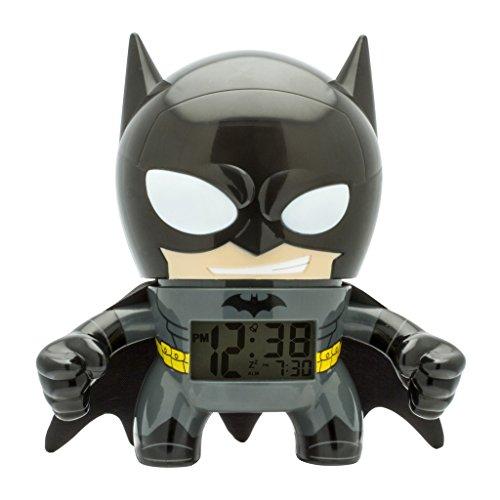 aa735a3209a4 BulbBotz 2020053Batman 7.5 Inches Digital Quartz Light Up Alarm Clock