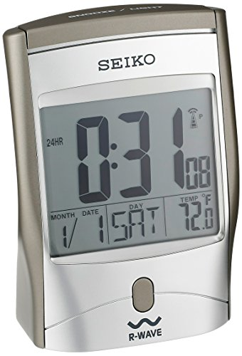 Seiko Advanced Technology Bedside Alarm Get Up And Glow