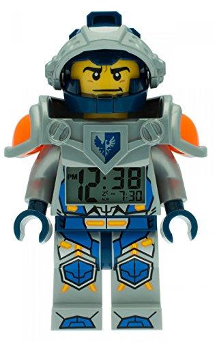 Kids Knights Minifigure Up Lego Nexo ClockGreen Light Alarm Aaron vm8wONn0