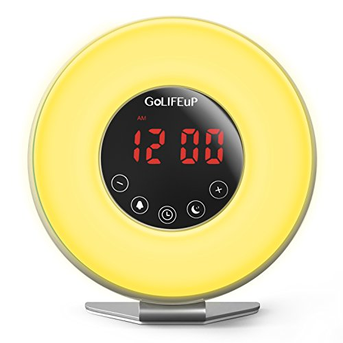 Perfect For Gift For Heavy Sleepers Wake Up Light Alarm