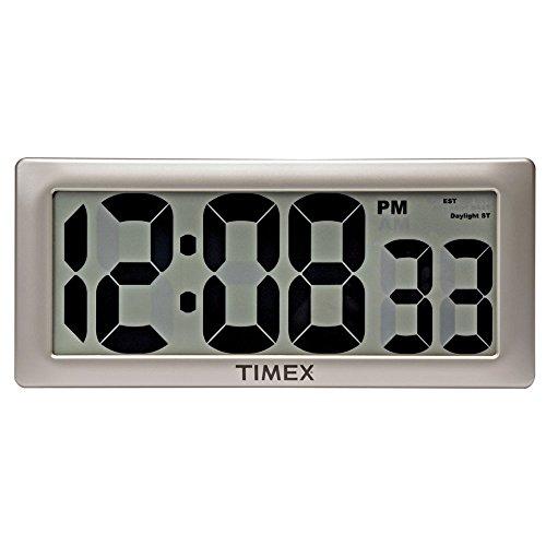 "iCKER 13 8"" Jumbo LCD Digital Alarm Clock Battery Operated"