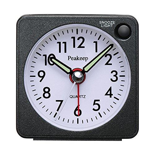 Bulova Vacationer Travel Clock Gold Clickhappybuy
