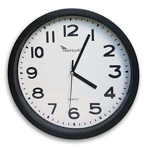 Travelwey Wall Clock No Bells No Whistles Simply Hang