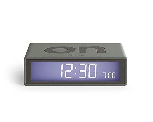 Lexon Flip On Off Alarm Clock Blue Clickhappybuy